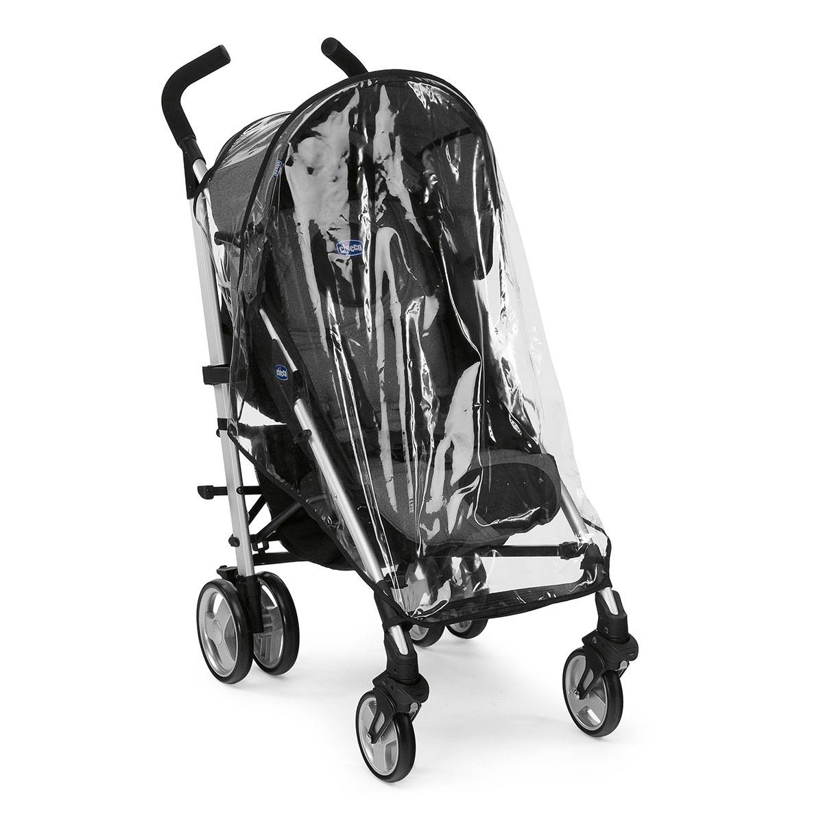 Коляска  Прогулочная Lite Way Top stroller Black Night Chicco