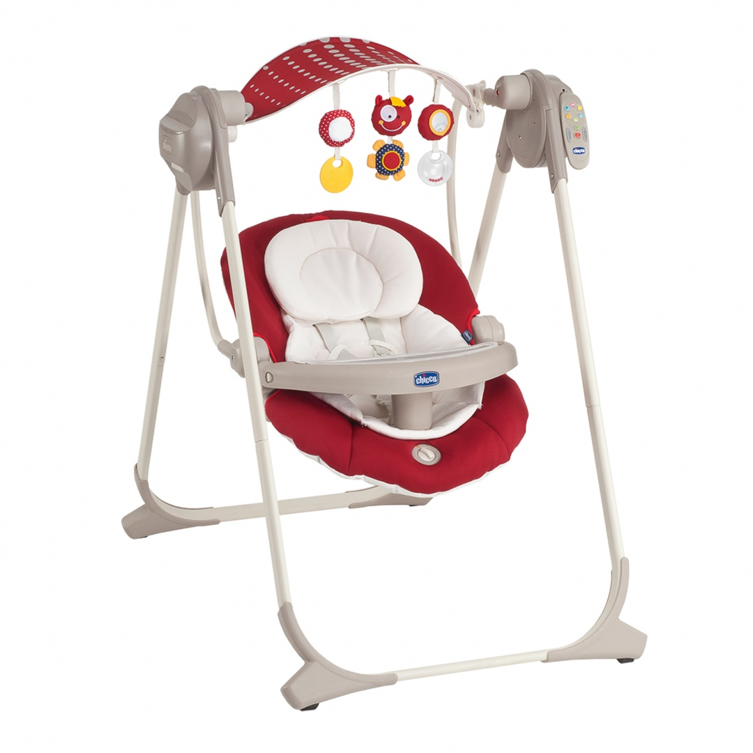 Качельки Chicco POLLY SWING UP Red