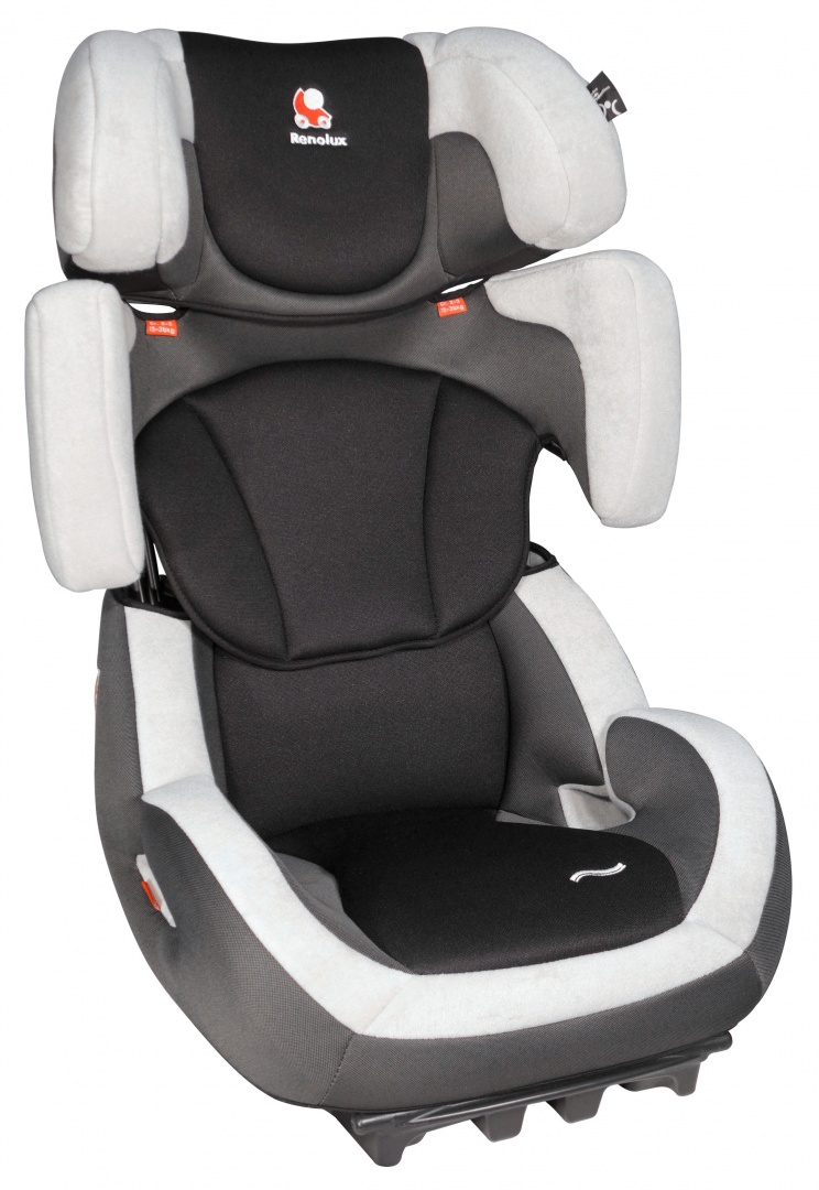 Автокресло Renolux Step 23 Black 15-36 кг