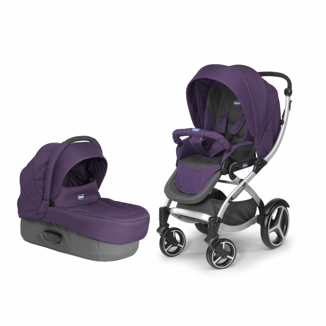 Коляска DUO ARTIC STROLLER COMPLETE Lavender Chicco